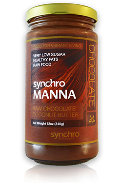Syncro Manna Raw Chocolate Coconut Butter