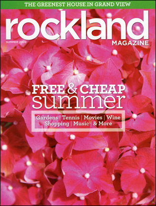 Rockland Magazine Cover, Summer 2009