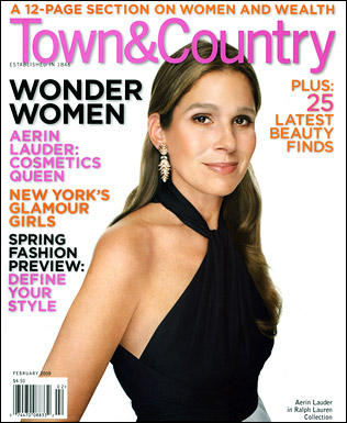 Town & Country Cover, February 2008